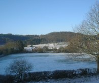 Early morning snow - Shelsley Beauchamp