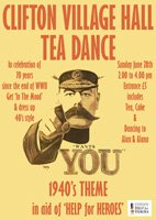 TEA DANCE CELEBRATES VE DAY ANNIVERSARY